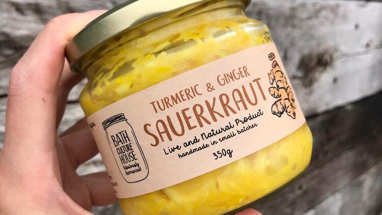 Bath Culture House - Turmeric & Ginger Sauerkraut