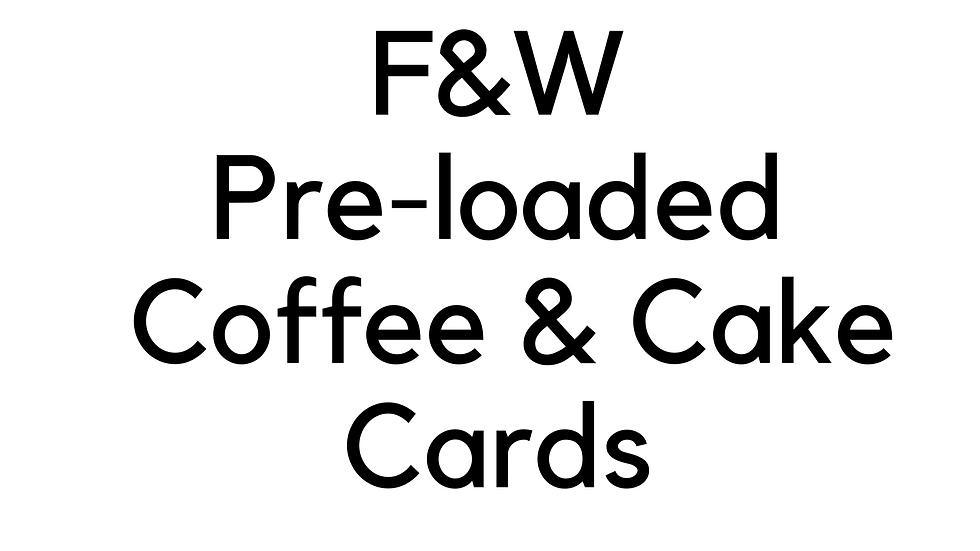 COFFEE & CAKE CARDS