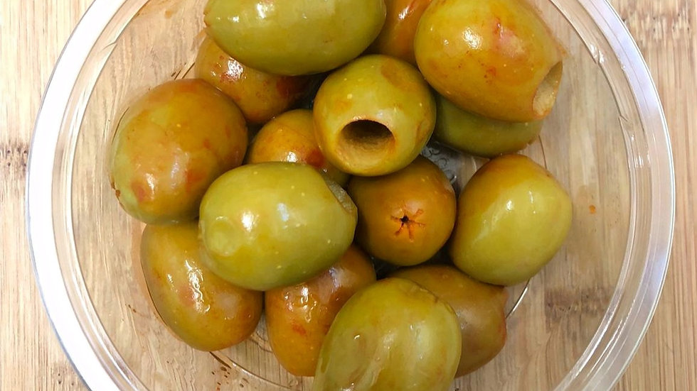 Gordal Pitted Jalepeno Olives