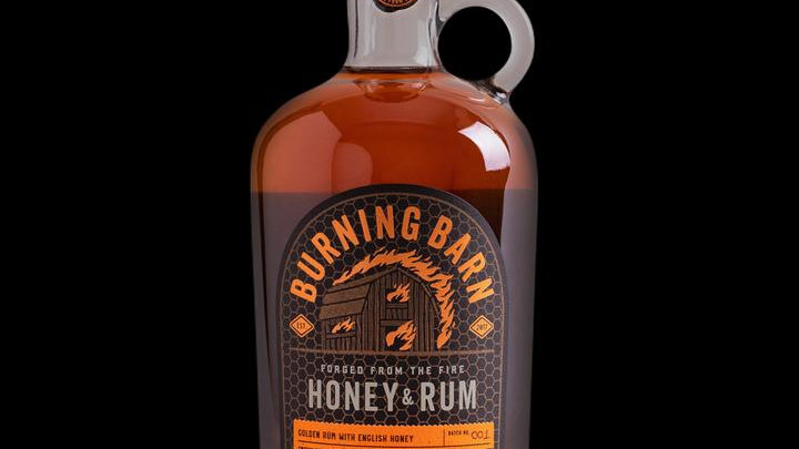 BURNING BARN HONEY RUM 70CL