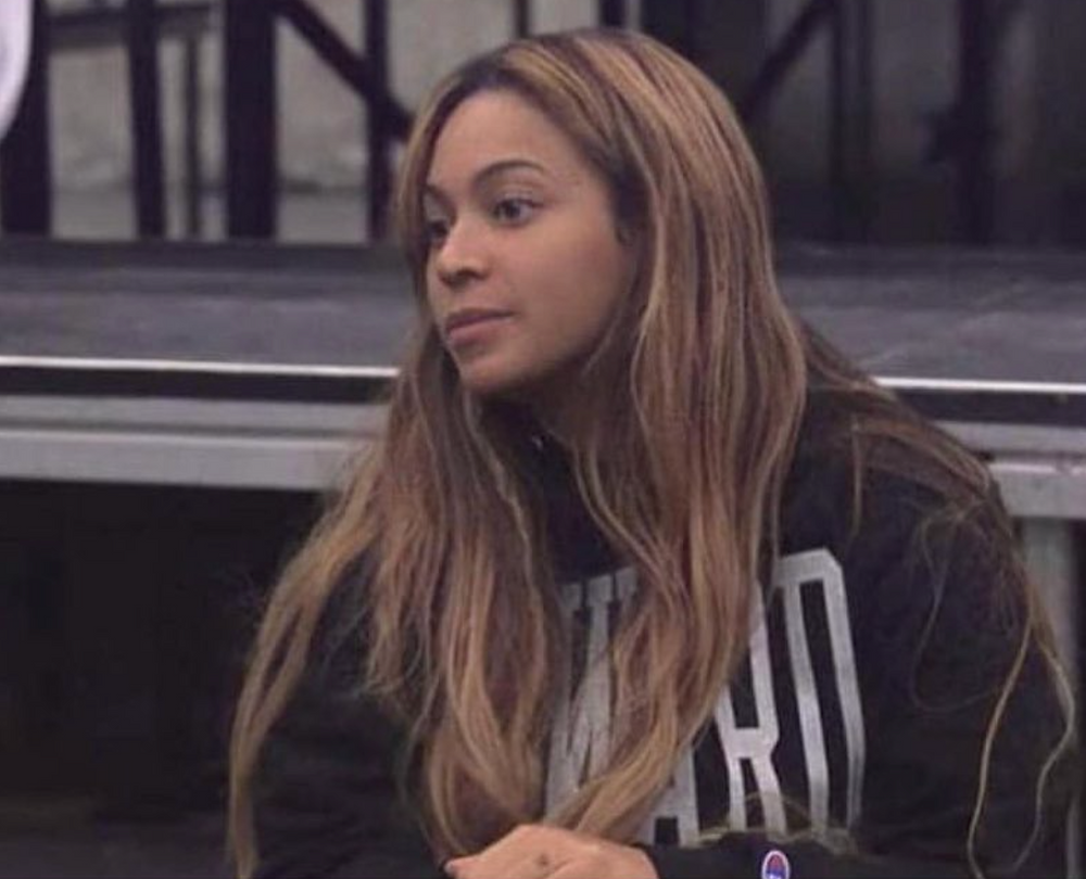 An Image of Beyonce wearing a Howard Sweater