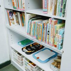 休閒區-書櫃