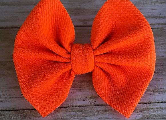 Neon Orange - Signature Bow