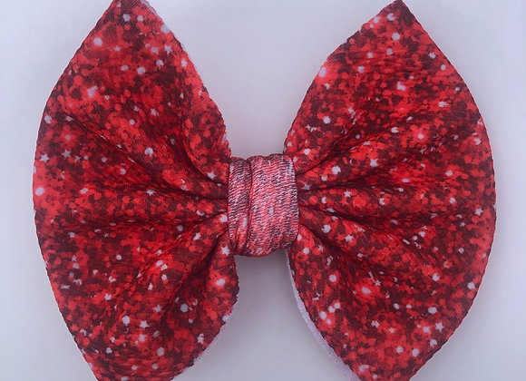 Ruby Red-Signature Bow