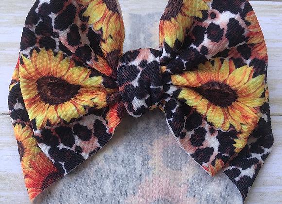 Sunflower Diva- Headwrap