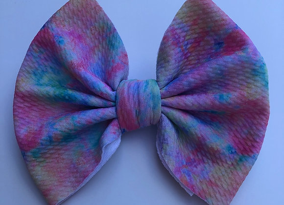 Cotton Candy-Signature Bow
