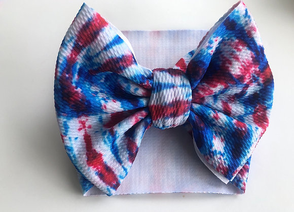 Melted Bomb Pop- Headwrap