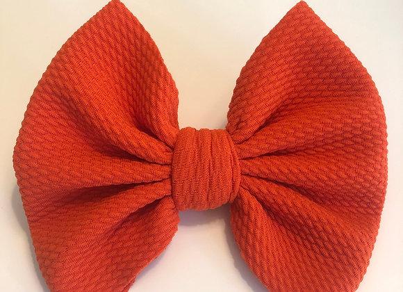 Orange-Signature Bow