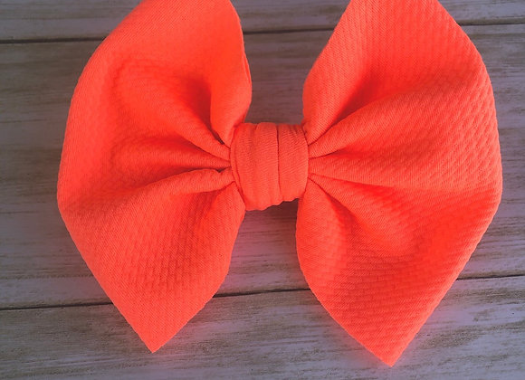 Neon Pink- Signature Bow