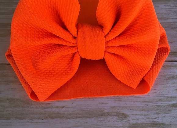 Neon Orange- Headwrap