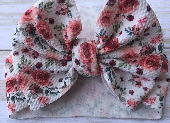 Wild Rose- Headwrap