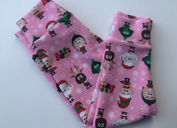 Pink Holiday -joggers (Size 18m- 6years)