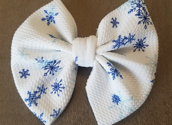 Let It Snow- Signature Bow