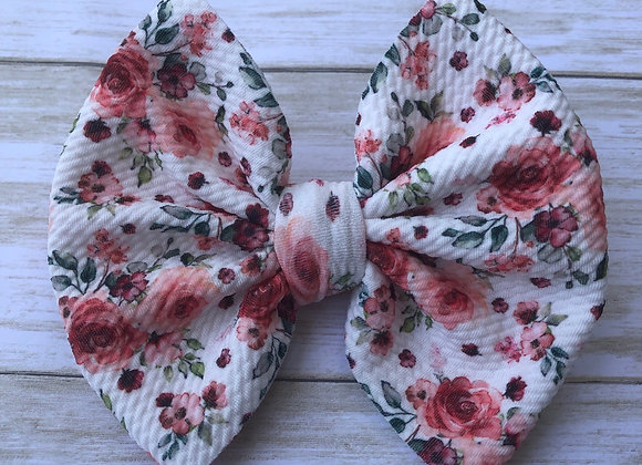 Wild Rose- Signature Bow