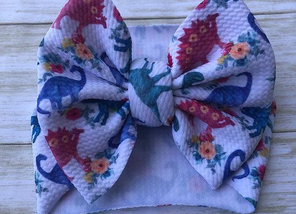 Floral Dino- Headwrap