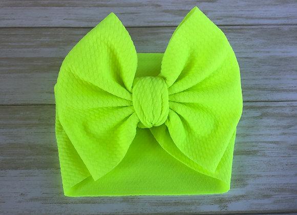 Neon Yellow - Headwrap