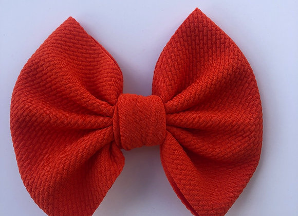 Clementine-Signature Bow