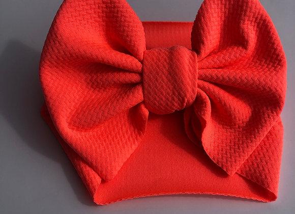 Coral-Headwrap