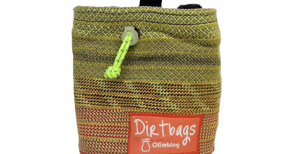 Dirtbags Climbing Recycled Chalk Bag - Yellow/Orange