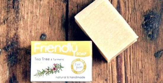 Friendly Soap - Tea Tree + Turmeric