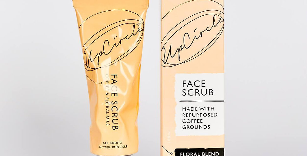 UpCircle Beauty - Coffee Face Scrub Floral Blend