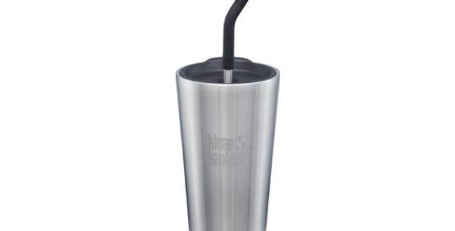 Klean Kanteen Insulated Tumbler w/Straw 473ml - Brushed Stainless Steel