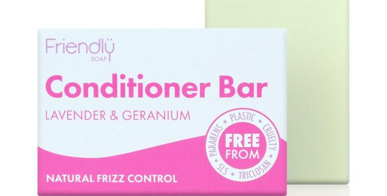 Friendly Conditioner Bar - Lavender +Geranium