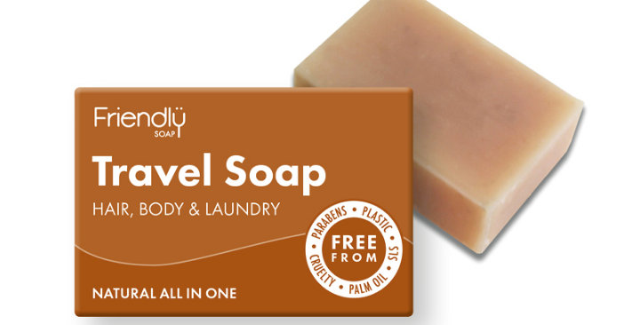 Natural All-in-one Friendly Travel Soap