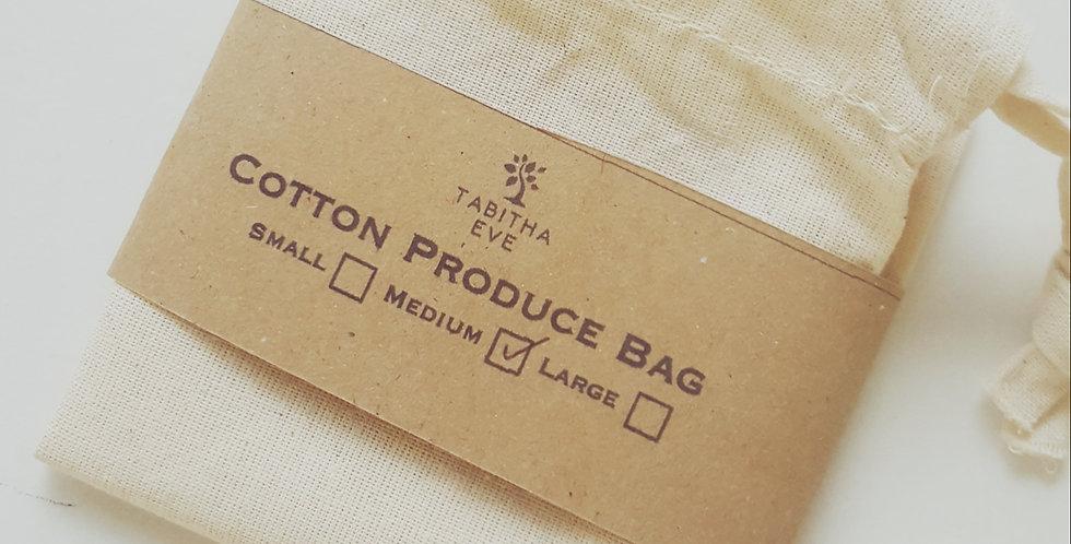 Medium Cotton Produce Bag