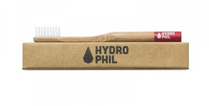 Hydrophil Kids Bamboo Toothbrush - Red