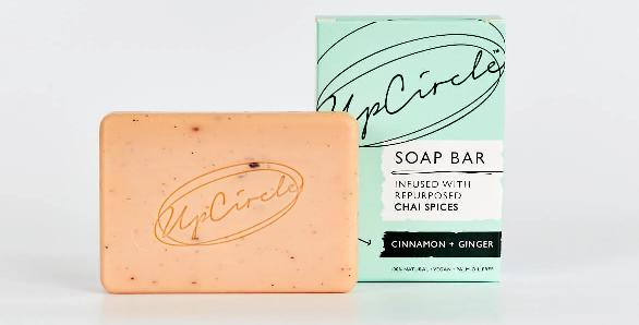 UpCircle Beauty - Cinnamon + Ginger Chai Soap Bar