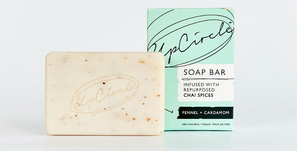 UpCircle Beauty - Fennel + Cardamon Chai Soap Bar