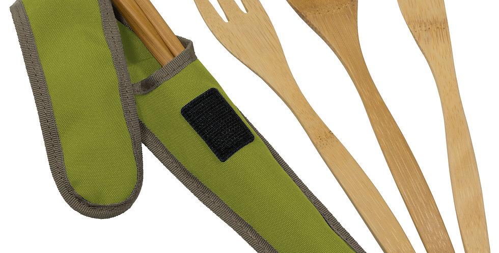 To-Go Ware Bamboo Cutlery Set - Avocado