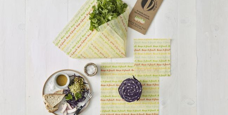 Vegan Food Wraps - Medium Kitchen Pack