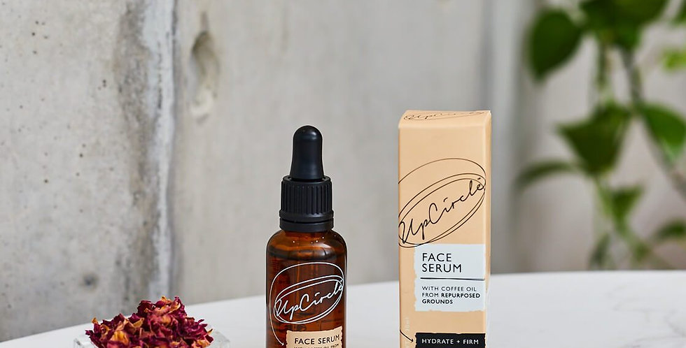 UpCircle Beauty - Hydrating Face Serum with Coffee Oil