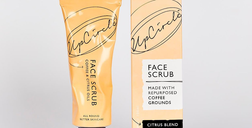 UpCircle Beauty - Coffee Face Scrub Citrus Blend