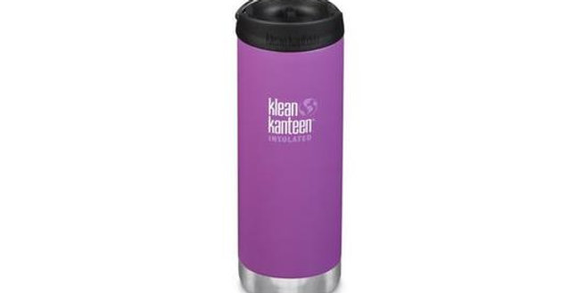 Klean Kanteen TKWide 473ml Vacuum Insulated Flask - Berry Bright (Matt)