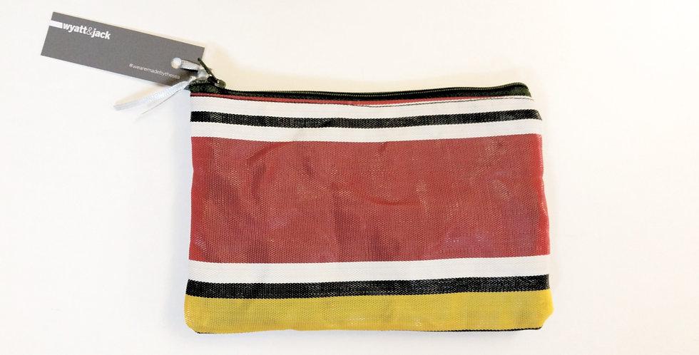 A5 Deckchair Pouch Zip Bag - Colour Options