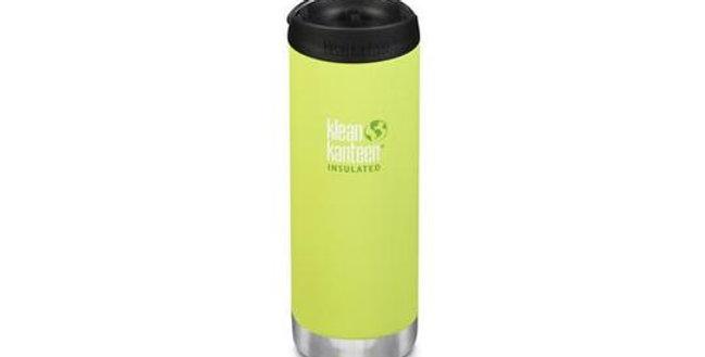 Klean Kanteen TKWide 473ml Vacuum Insulated Flask - Juicy Pear (Matt)