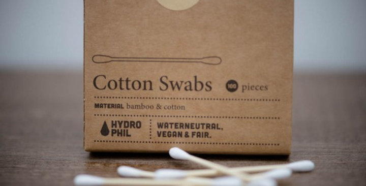 Hydrophil Bamboo Cotton Swabs