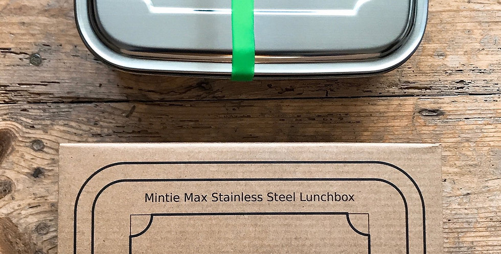 Mintie Max 1.8L Stainless Steel Lunch Box