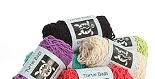 Organic Short Handled Turtle Bag - Choice of Colours