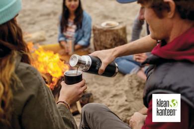 Klean Kanteen TKPro Flask Shale Black.jp