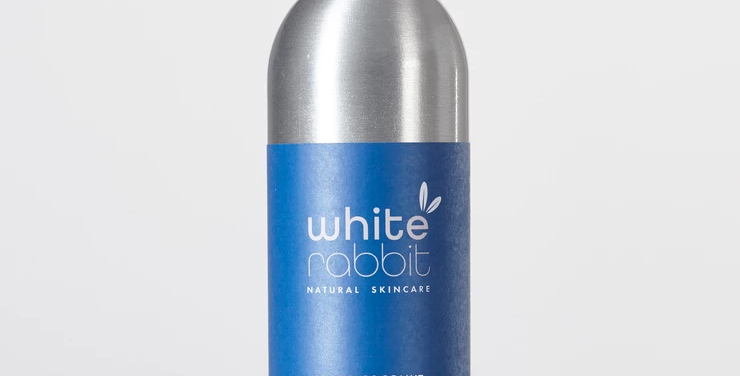 White Rabbit Skin Care Lime+Coconut Cleansing Water