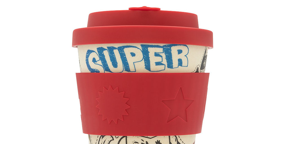 Ecoffee Cup - Superhero Fuel BooCup 8oz