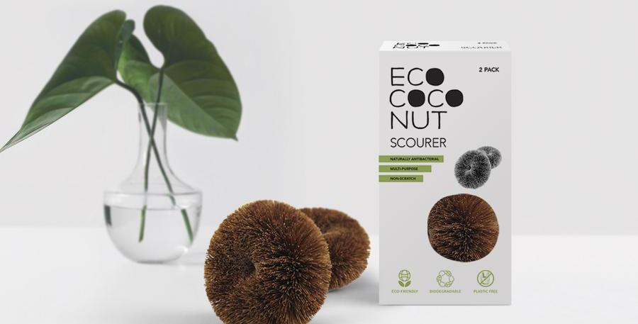 EcoCoconut Scourer - Pack of 2