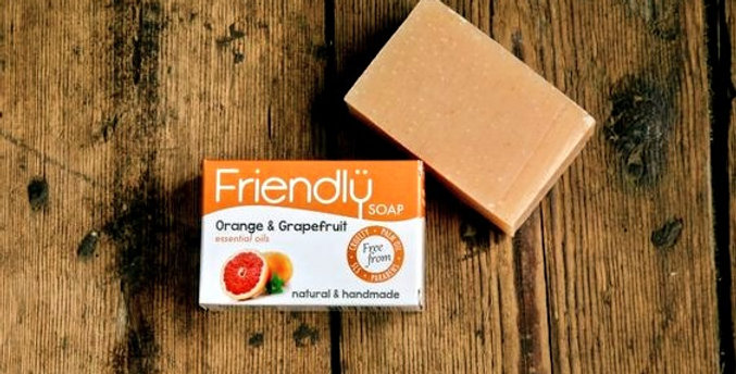 Friendly Soap - Orange + Grapefruit