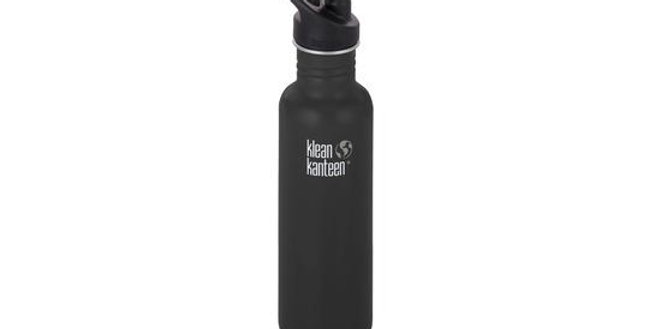 Klean Kanteen Classic 800ml Single Wall Bottle - Shale Black (Matt)