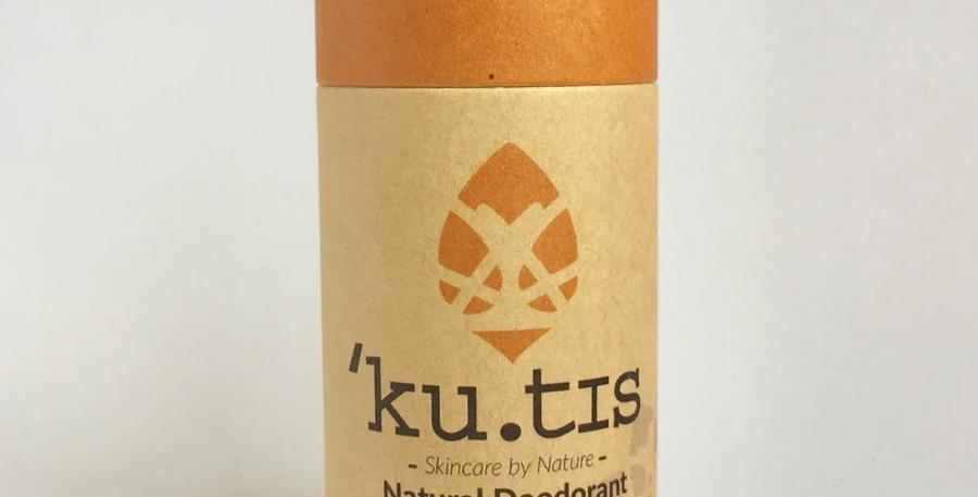 Kutis Natural Vegan Deodorant - Grapefruit + Mandarin