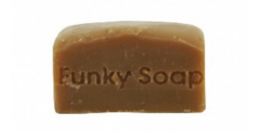 Funky Soap - Fairtrade Coffee Shampoo Bar for Brunettes 120g